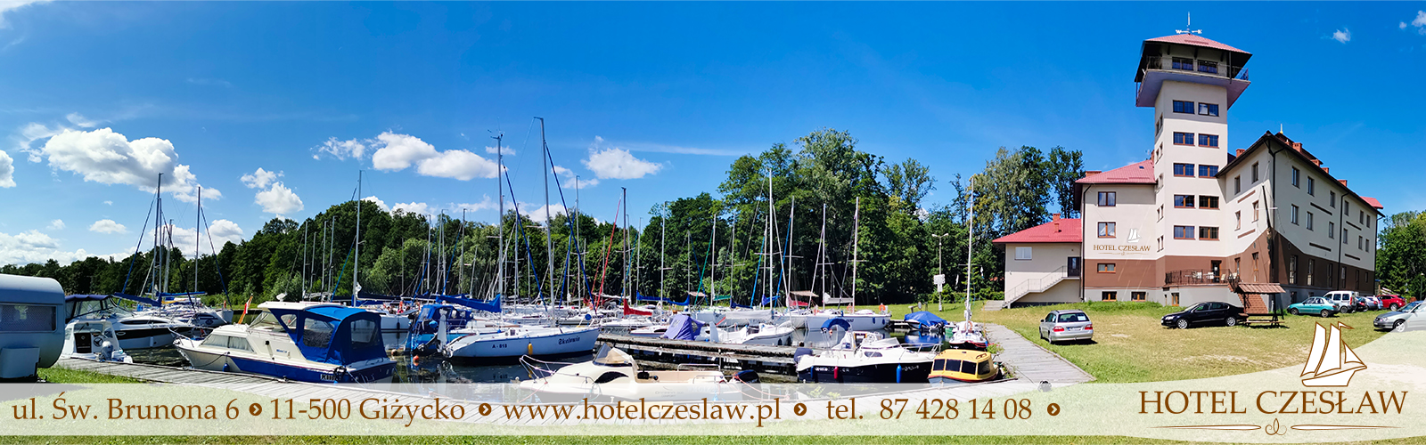Hotel Czesław, hotele nad jeziorem w Giżycku